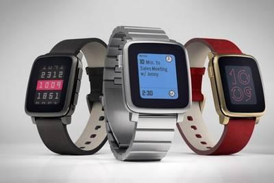 Pebble представила металлическую версию своих новых смарт-часов – Time Steel