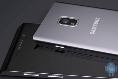 По слухам, следующие флагманы Samsung будут с загнутыми краями и сканерами радужки