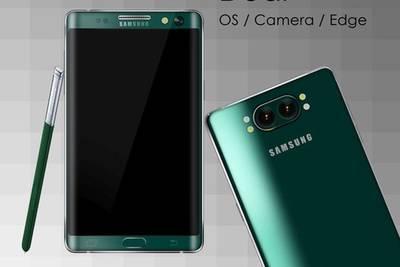 Представлен концепт Samsung Galaxy Note 5 с изогнутым с двух сторон дисплеем