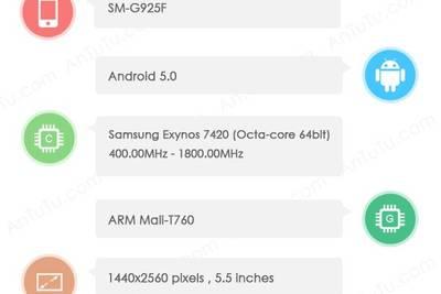 Samsung Galaxy S6 замечен в AnTuTu