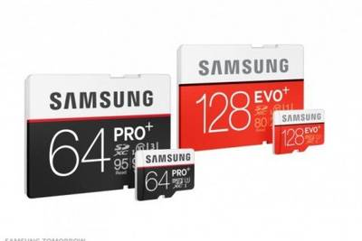 Samsung представила новые модели карт памяти