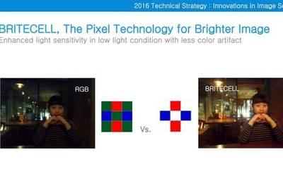 Samsung представила технологию камер BRITECELL