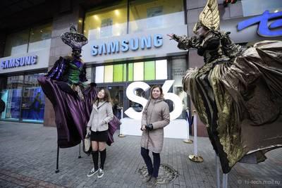 Samsung: продажи Galaxy S6 и Galaxy S6 edge в России опередили Galaxy S5 на 170%