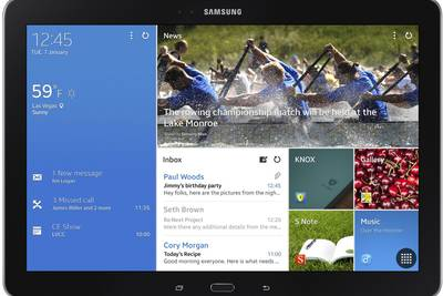 Samsung разрабатывает гигансткий планшет Galaxy Tab S Pro с дисплеем 12