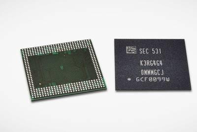 Samsung разработала первые чипы на 6 ГБ ОЗУ для смартфонов