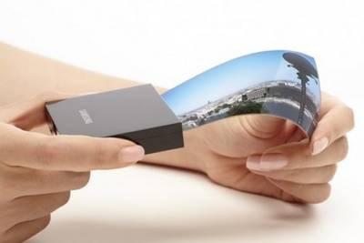 Samsung запатентовала два вида гибких дисплеев и
