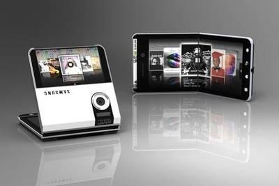 Samsung запатентовала складной смартфон с гибким дисплеем