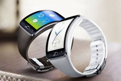 Samsung запатентовала технологию сенсорного кольца для управления умными часами
