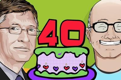 Сегодня исполнилось 40 лет с момента основания компании Microsoft
