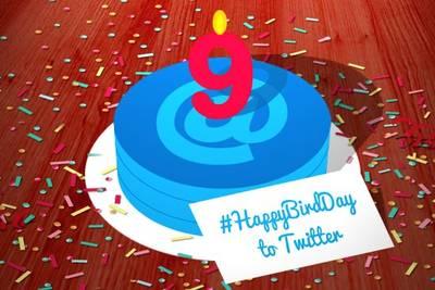 Сегодня Твиттеру исполнилось девять лет!