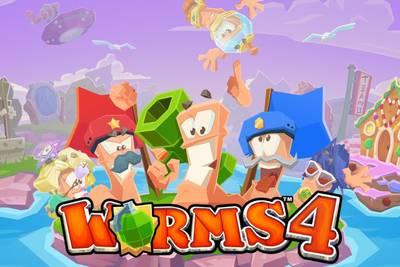 Скриншоты Worms 4 для мобильных устройств, релиз которой состоится уже в этом месяце