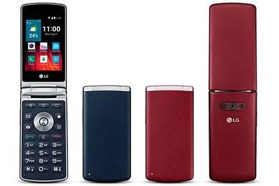 Смартфон в стильном форм-факторе LG Wine Smart
