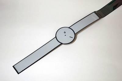 Sony представила концепт умных часов нового типа