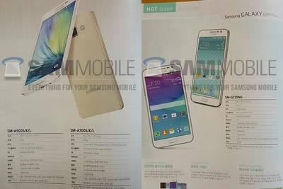 Стали известны подробности о смартфонах Samsung Galaxy A7 и Galaxy Grand Max