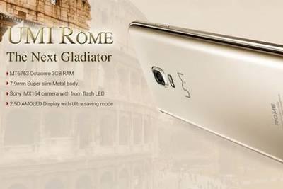 UMi Rome: середнячок с 3 ГБ RAM дешевле 6 000 рублей
