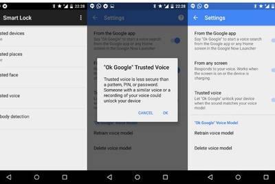 В Android появилась разблокировка голосом