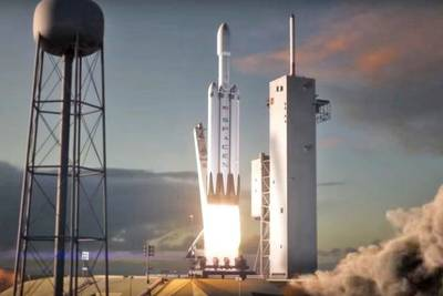 Запуск Falcon Heavy перенесён на следующий год