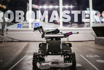 Китай одержал победу в соревновании небольших автономных боевых роботов
