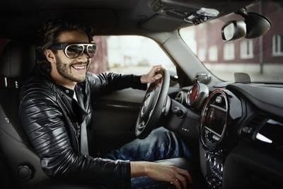 BMW представил водительские очки дополненной реальности