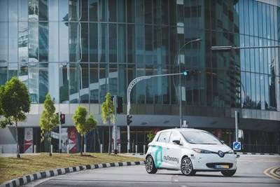 На улицах Сингапура появились первые беспилотные такси