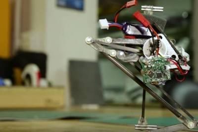 Робот-паркурщик Salto научился маневрировать в воздухе
