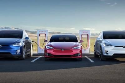 Tesla выпустила 300 000 электромобилей