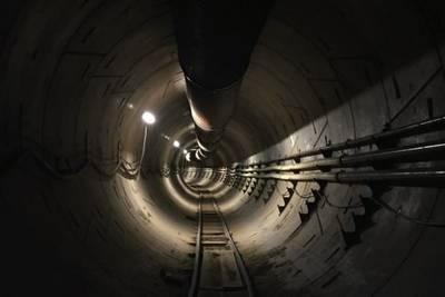 Высокоскоростную подземную линию Илона Маска откроют 10 декабря
