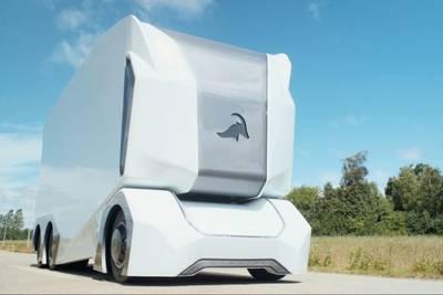 Шведские беспилотные грузовики появятся на дорогах этой осенью