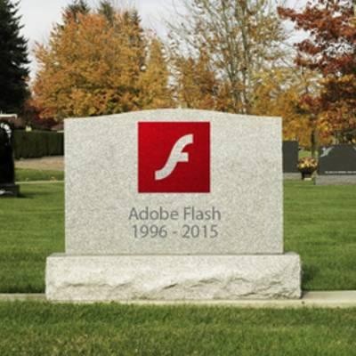 Adobe решила лично забить гвоздь в крышку гроба Flash и объявила