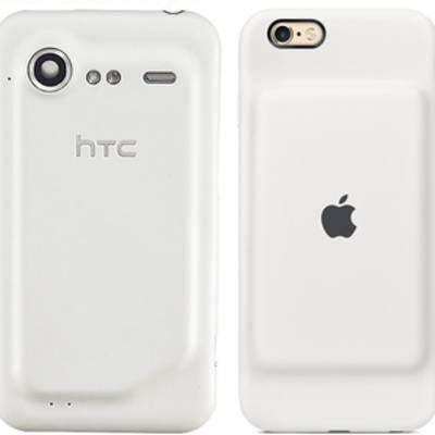 Apple уличили в копировании дизайна смартфона HTC для фирменного чехла с аккумулятором