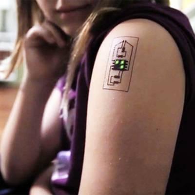 Биометрические татуировки смогут отслеживать параметры организма и местоположение человека