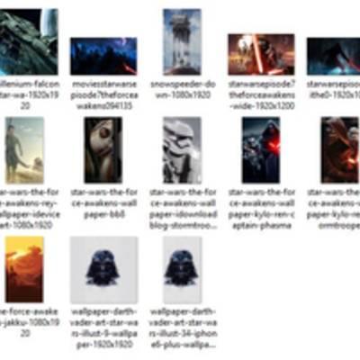 Подборка шикарных обоев по «Звездным войнам»