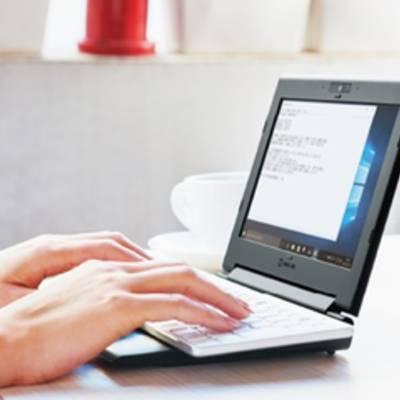 Portabook XMC10: необычный ноутбук со складной клавиатурой