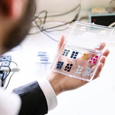 Учёные создали дисплей, не требующий энергии