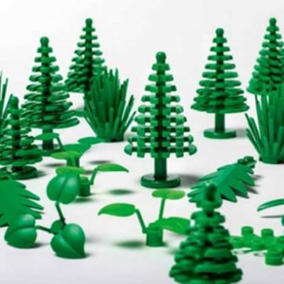 Лего скоро сделает детали из биопластика сахарного тростника