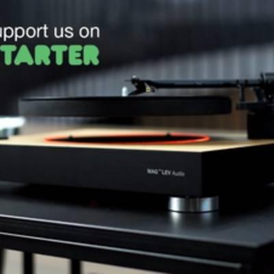 Стартаперы показали уникальный аудиопроигрыватель, в котором пластинка парит в воздухе