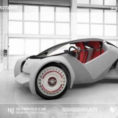 #видео   Представлен первый в мире автомобиль, напечатанный на 3D-принтере
