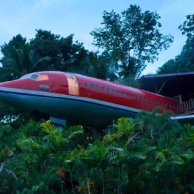 Boeing 727 превратился в роскошный отель