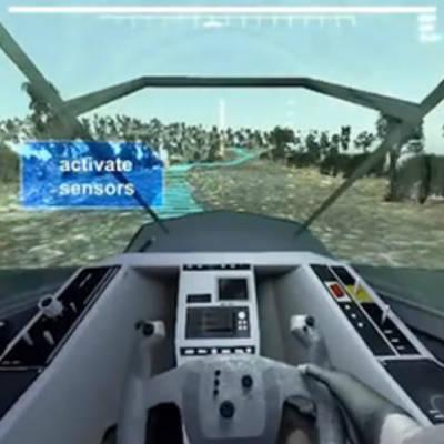 #видео дня | Внутри кабины полуавтономного танка DARPA