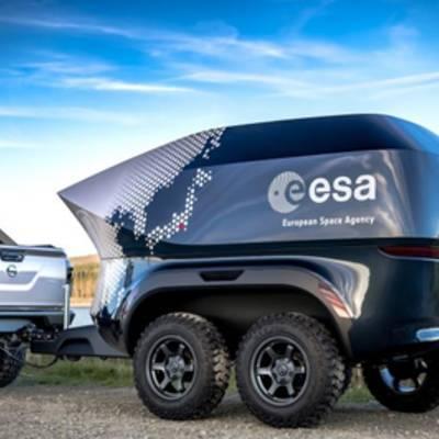 Nissan и ЕКА представили внедорожник для астрономов, оснащенный телескопом
