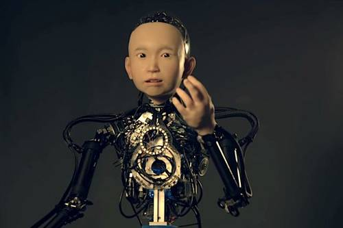 Хироси Исигуро представил свое новое творение — андроида Ибуки