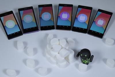 Sony предлагает собрать Android 6.0 Marshmallow для Xperia
