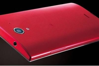 Sharp AQUOS Crystal X. 5.5-дюймовый Android фаблет почти без рамок вокург экрана