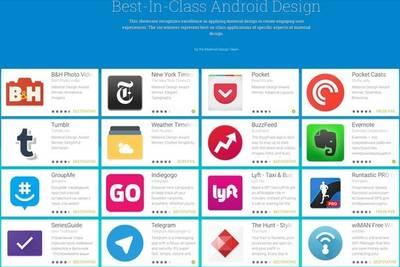 Telegram вошёл в число 16 лучших приложений в стиле Material Design по версии Google.