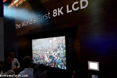 В этом году появятся телики с 8K-разрешением и размером 98 и 110 дюймов.