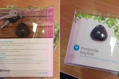 Motorola представила брелок Keylink Pocket 1 , который поможет вам найти ваш смартфон где бы он ни был.