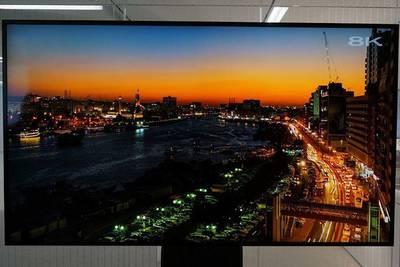 Первый в мире 8K-телевизор от Sharp обойдется вам в 9 млн рублей.