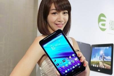 Acer представила планшет с голосовой связью