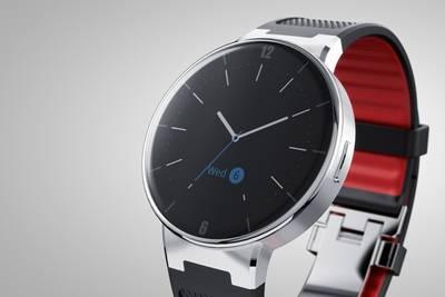Alcatel открыла предзаказы на «умные» часы с круглым экраном OneTouch Watch