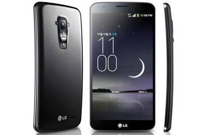 Android-смартфон LG G Flex 2 с изогнутым экраном дебютирует на CES 2015